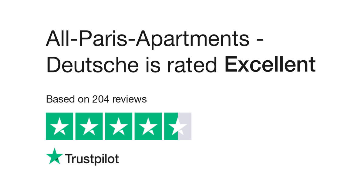 All-Paris-Apartments - Deutsche Reviews   Read Customer Service ...