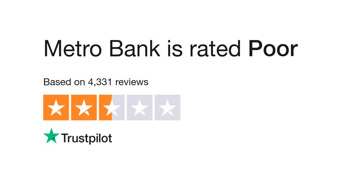 Metro Bank Reviews | Read Customer Service Reviews of www