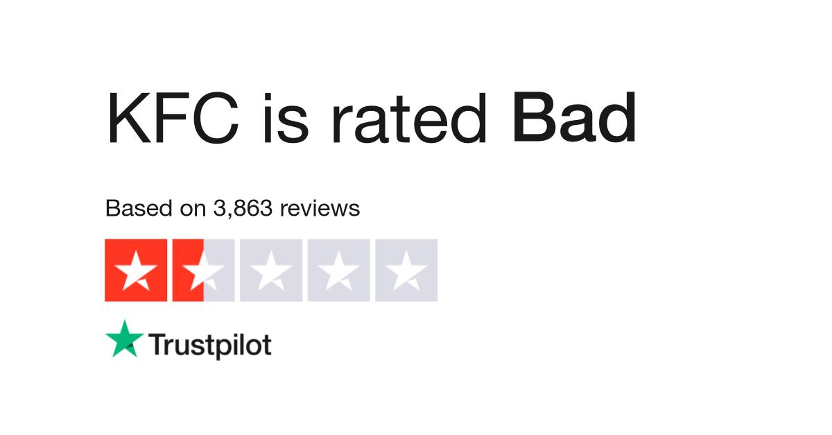 Kfc Reviews Read Customer Service Reviews Of Kfccouk