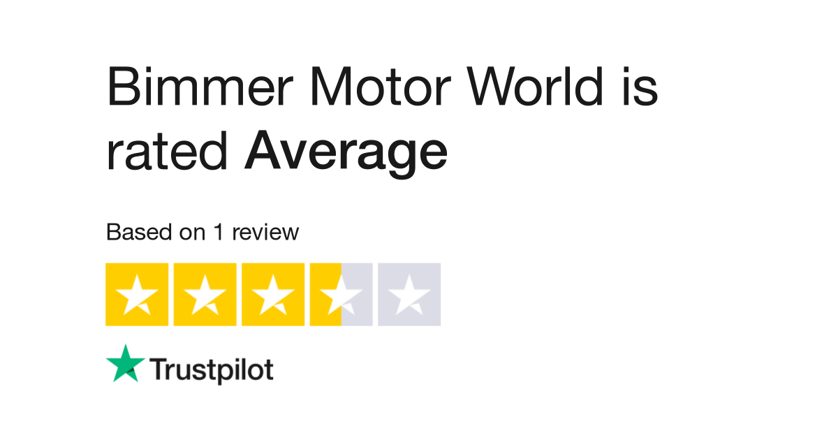 Bimmer Motor World Reviews Read Customer Service Of Www Bimmermotorworld