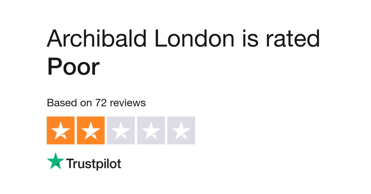 8e5ca14299b Archibald London Reviews