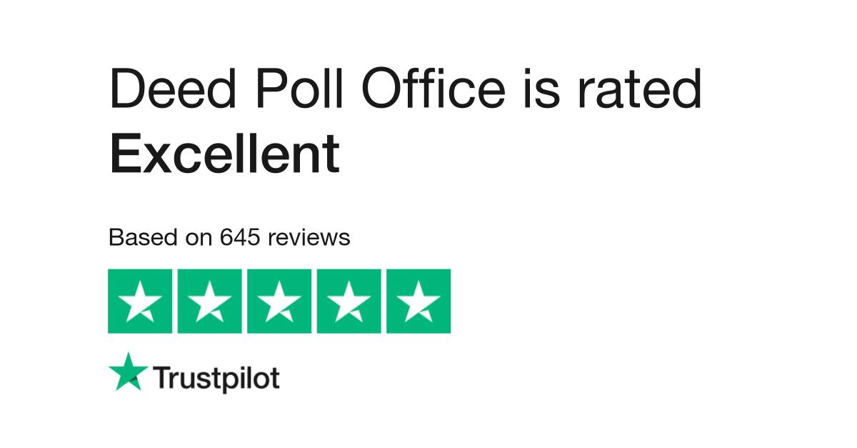 deed poll office reviews read customer service reviews of deedpollofficecom