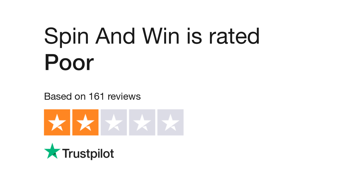 Spin And Win Reviews   Read Customer Service Reviews of