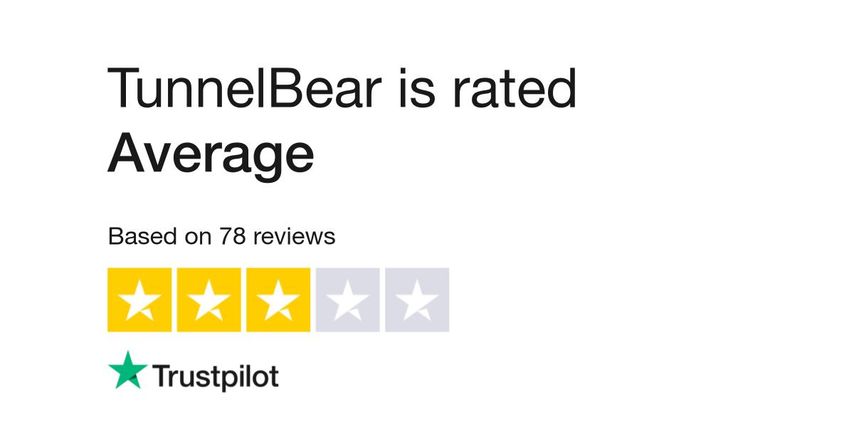 TunnelBear Reviews | Read Customer Service Reviews of www tunnelbear com