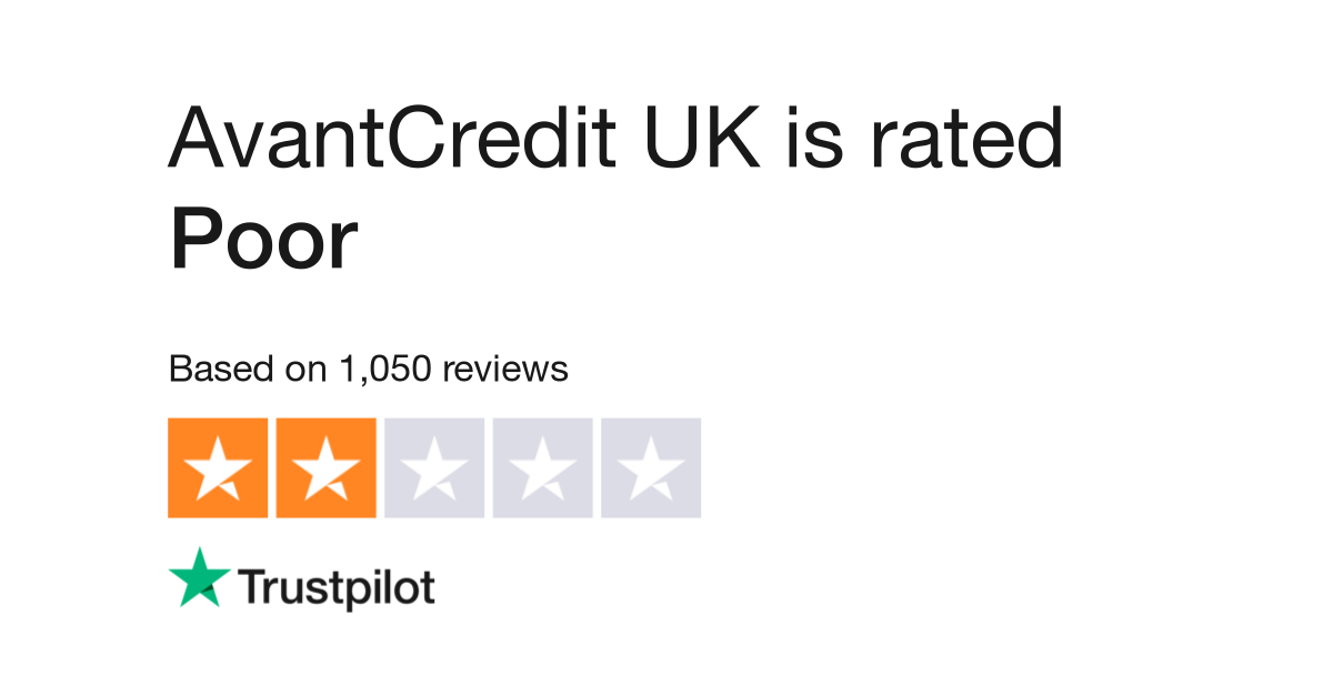 Avantcredit Uk Reviews Read Customer Service Reviews Of