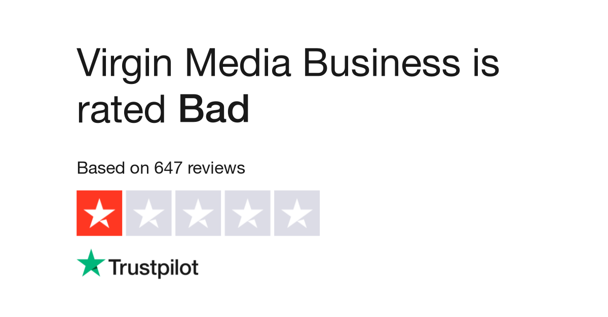 Virgin Media Business Reviews | Read Customer Service