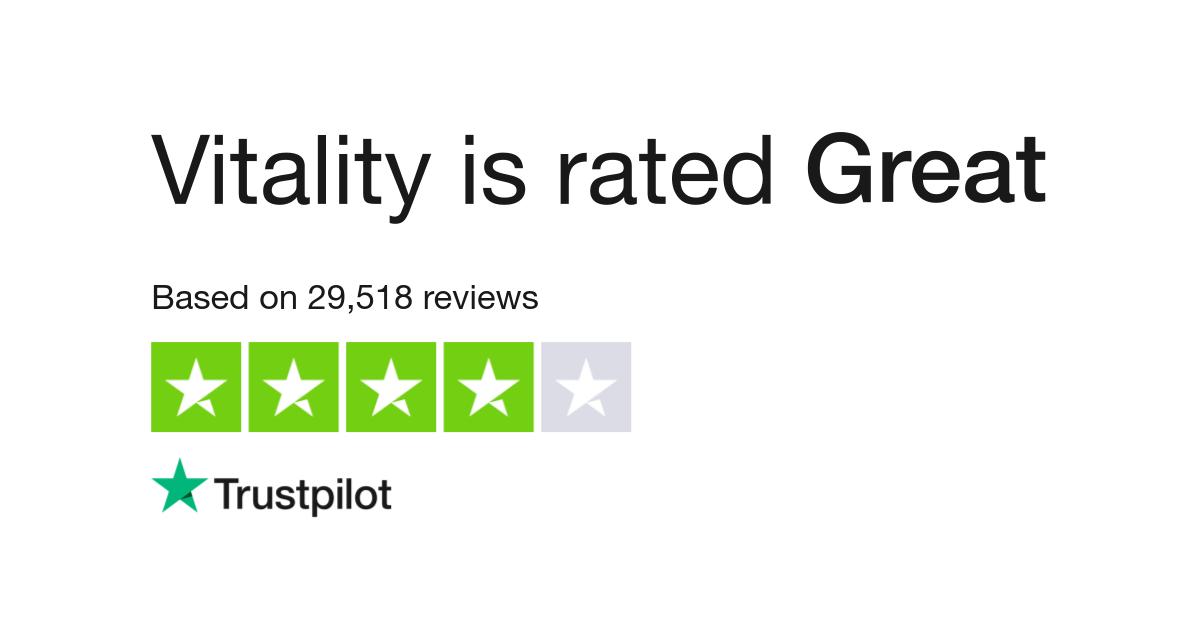 Vitality Reviews | Read Customer Service Reviews of vitality