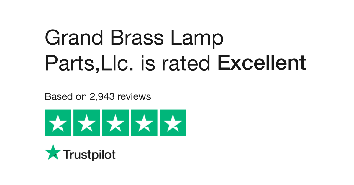 Grand brass lamp partsllc reviews read customer service reviews grand brass lamp partsllc reviews read customer service reviews of grandbrass aloadofball Gallery