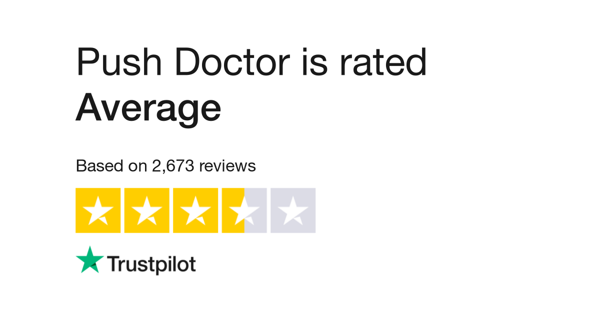 Push Doctor Reviews | Read Customer Service Reviews of