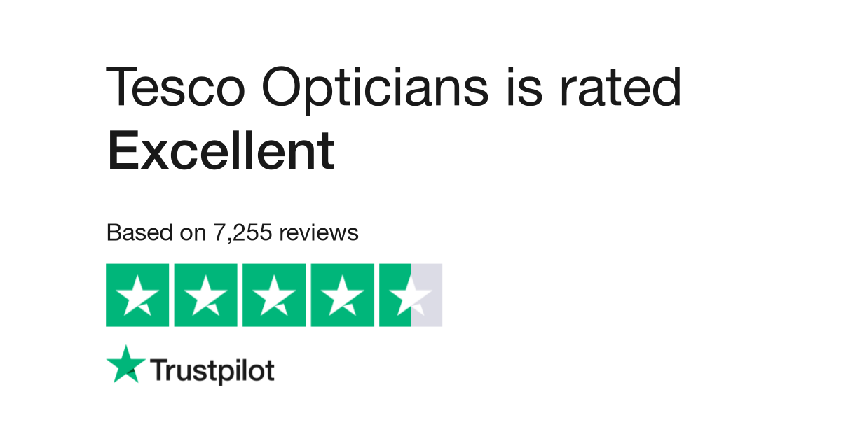 Tesco Opticians Reviews | Read Customer Service Reviews of www ...