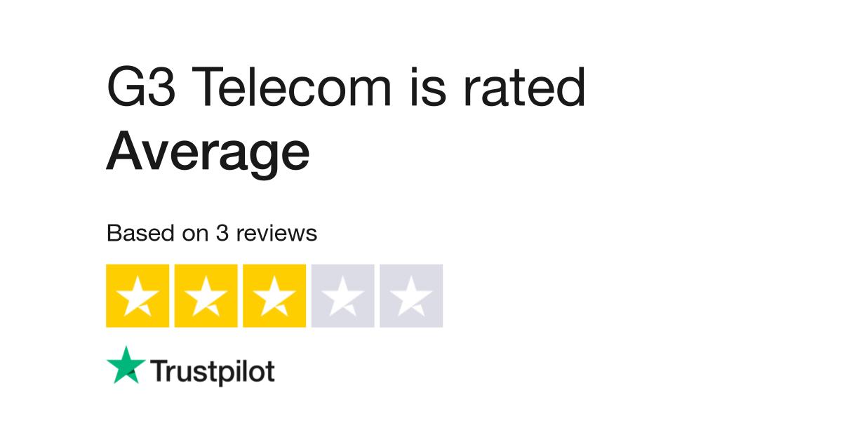 G3 Telecom Reviews   Read Customer Service Reviews of g3telecom com