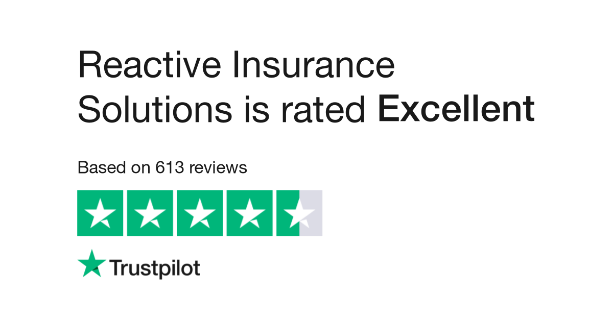 Reactive Insurance Solutions Reviews | Read Customer Service Reviews ...