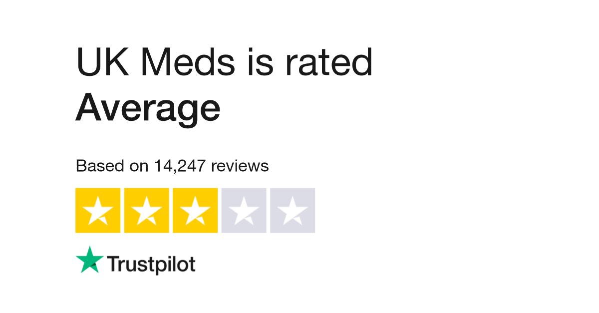 UK Meds Reviews | Read Customer Service Reviews of ukmeds co uk