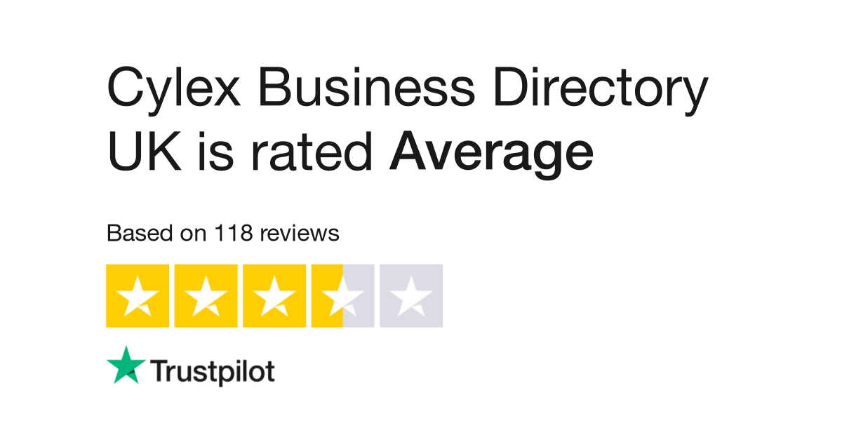 Cylex Business Directory UK Reviews | Read Customer Service Reviews