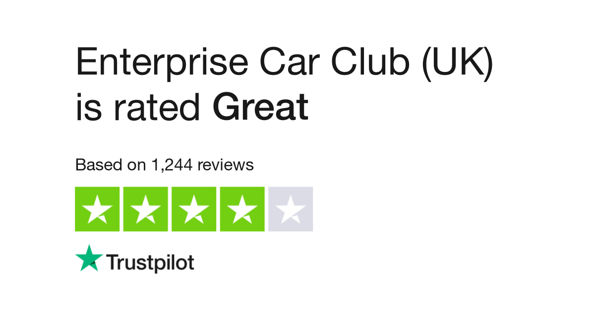 Enterprise Car Club Reviews Read Customer Service Of Enterprisecarclub Co Uk