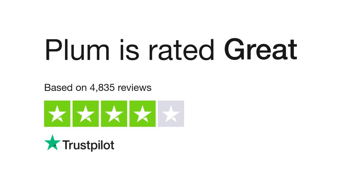 Plum Reviews | Read Customer Service Reviews of withplum com