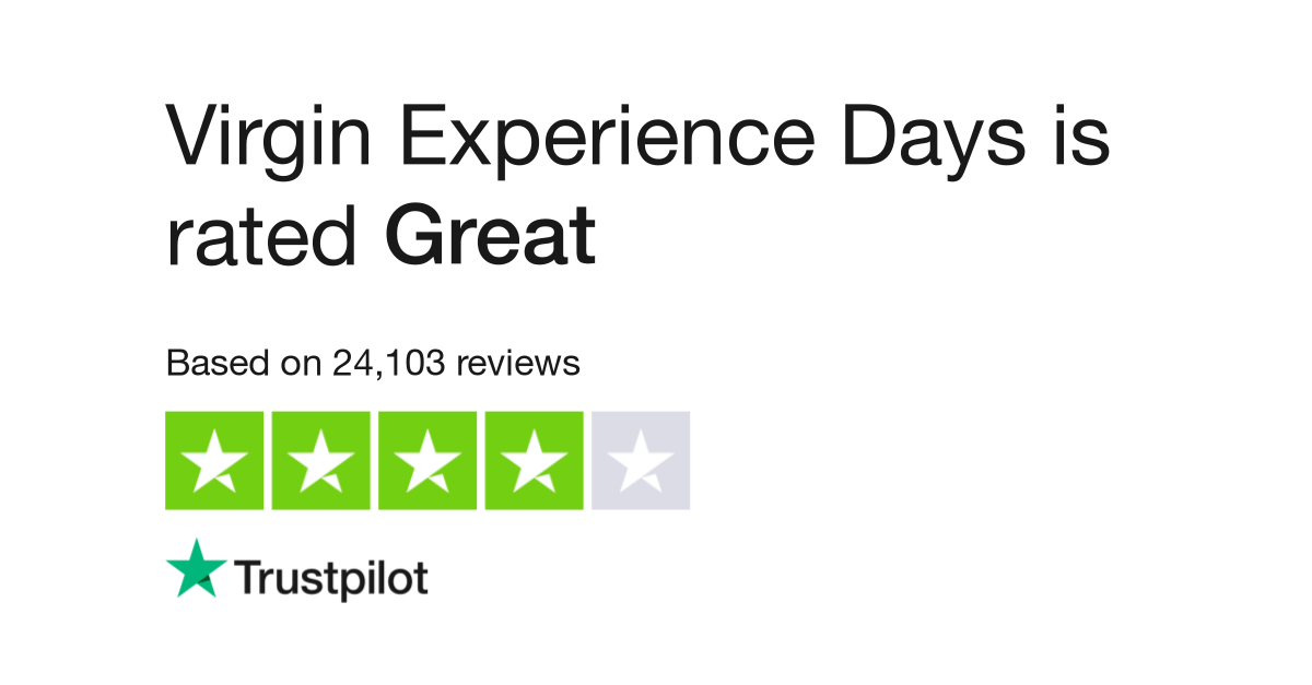 aaaf93e66001 Virgin Experience Days Reviews | Read Customer Service Reviews of www. virginexperiencedays.co.uk | 2 of 31