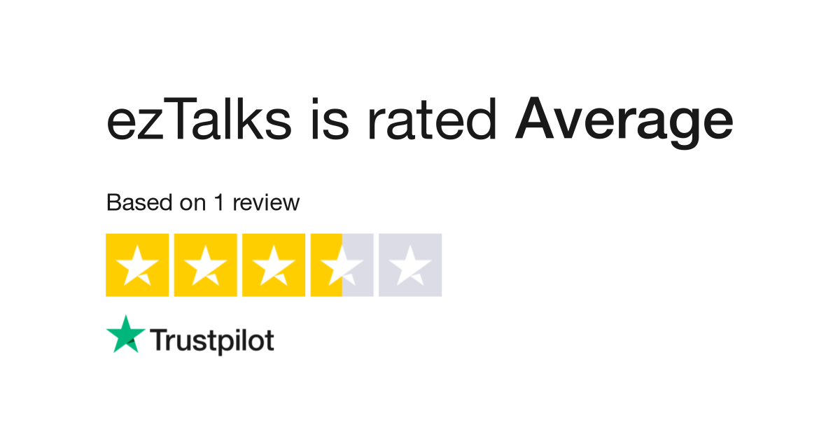 ezTalks Reviews   Read Customer Service Reviews of www eztalks com