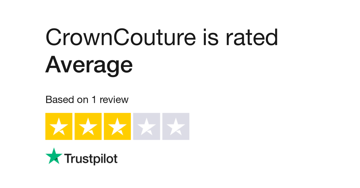 Crowncouture Reviews Read Customer Service Reviews Of Www