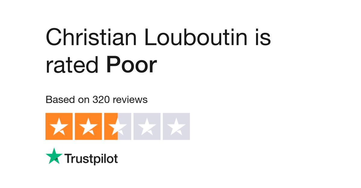 362fe2be051 Christian Louboutin Reviews | Read Customer Service Reviews of eu ...