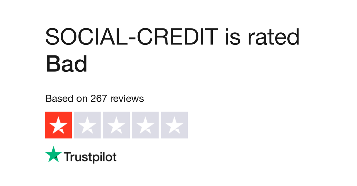 SOCIAL-CREDIT Reviews | Read Customer Service Reviews of www