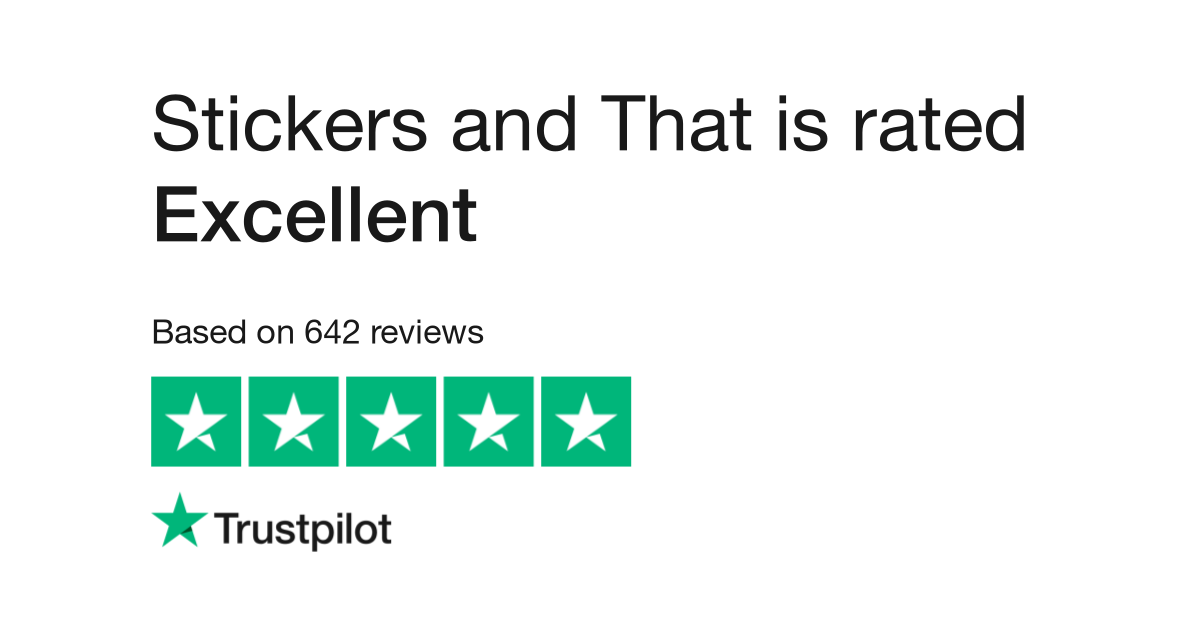 Stickers and That Trustpilot Review