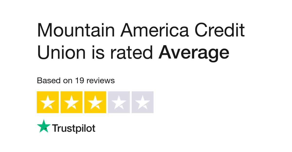 Mountain America Credit Union Reviews | Read Customer