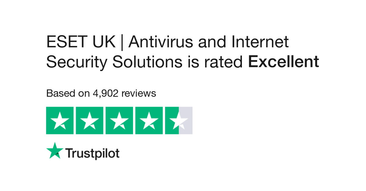 ESET UK - Internet Security Software Reviews | Read Customer