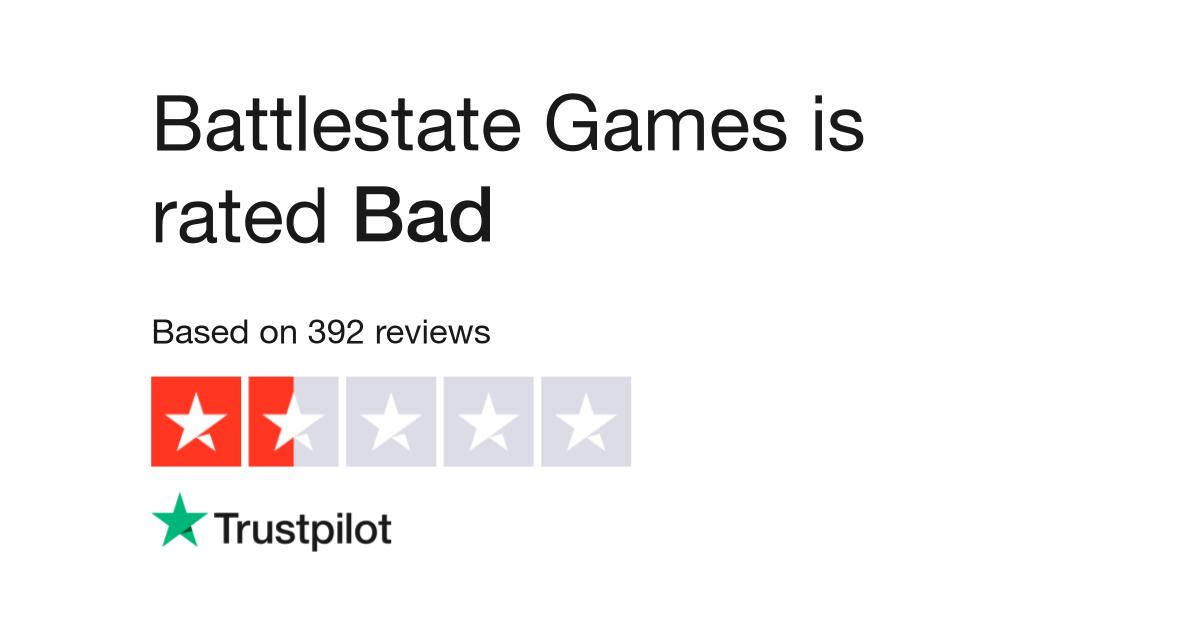 Battlestate Games Reviews | Read Customer Service Reviews of