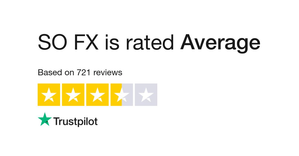 SO FX Reviews   Read Customer Service Reviews of www so-fx com