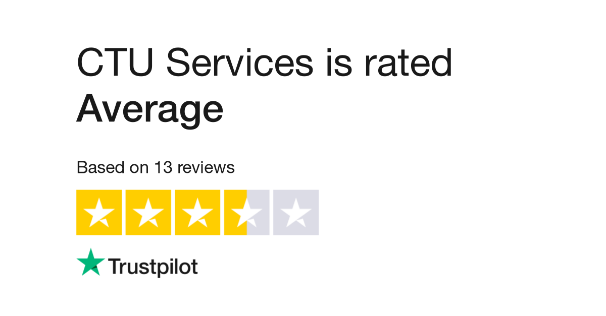 CTU Services Reviews | Read Customer Service Reviews of www