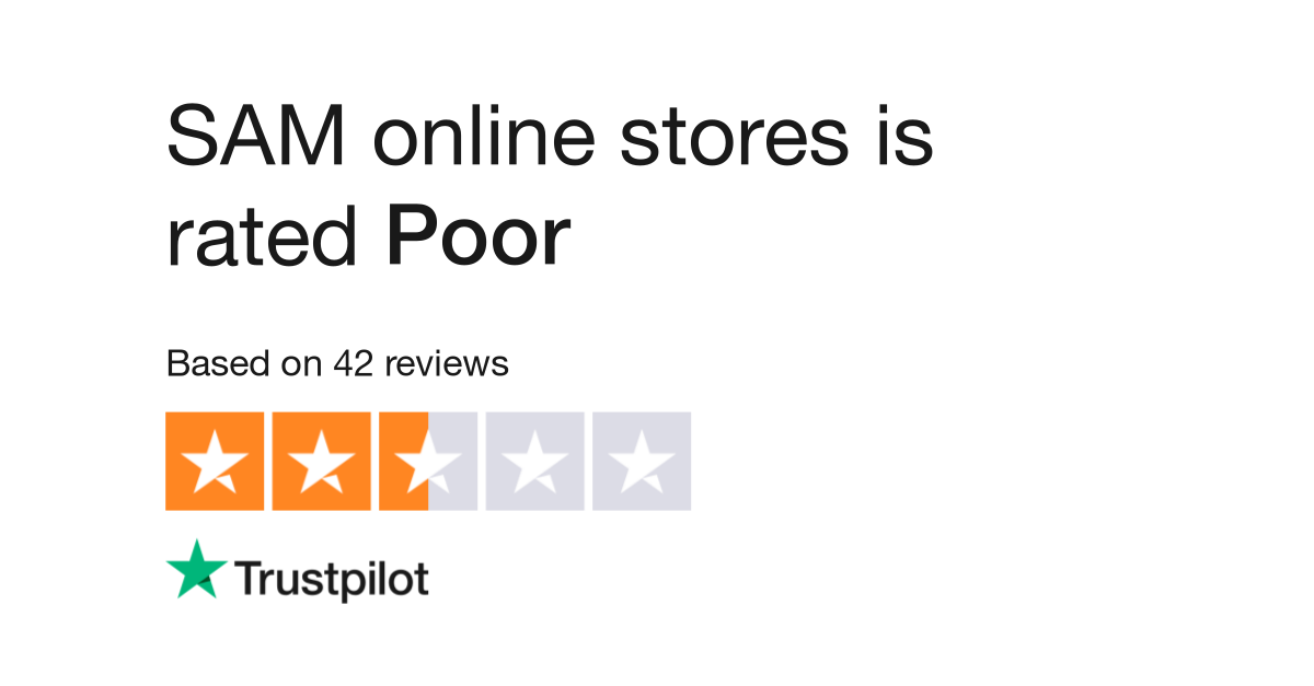 Sam Online Stores Reviews Read Customer Service Reviews Of Www