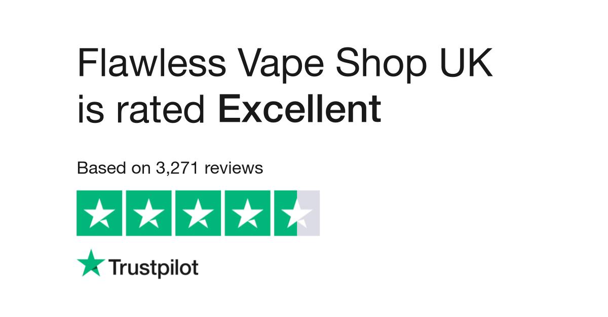 Flawless Vape Shop UK Reviews | Read Customer Service