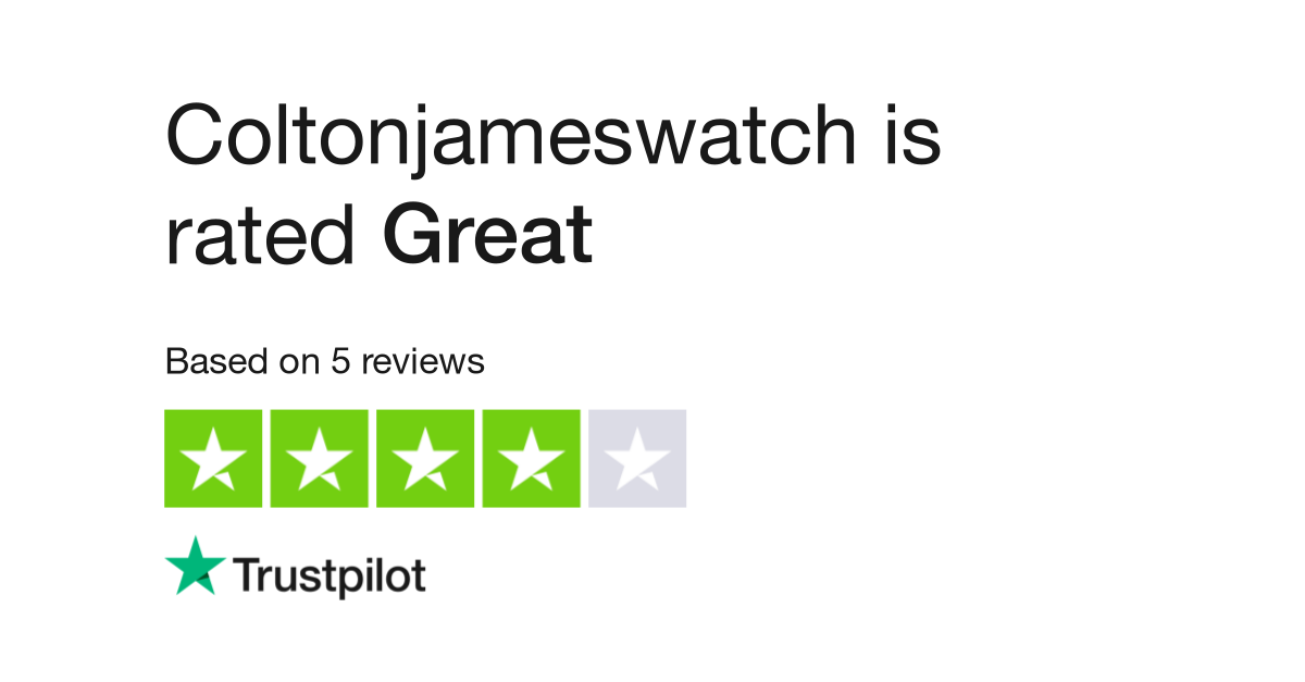 Coltonjameswatch Reviews | Read Customer Service Reviews of
