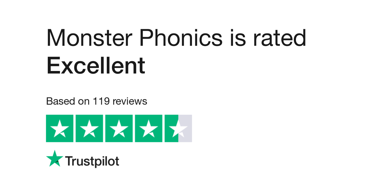 Monster Phonics Reviews | Read Customer Service Reviews of monsterphonics.com
