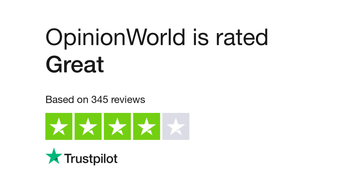 Opinionworld Reviews | Read Customer Service Reviews of