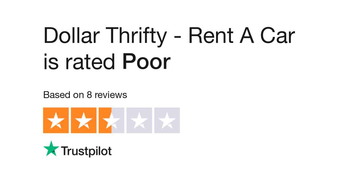 Dollar Thrifty Rent A Car Reviews Read Customer Service Reviews