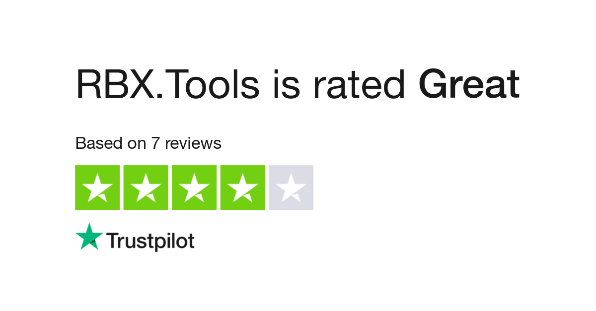 Rbx Tools Reviews Read Customer Service Reviews Of Rbx Tools