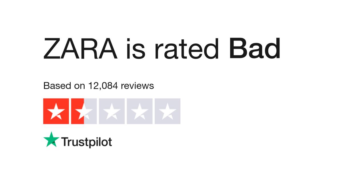 Zara Reviews Read Customer Service Reviews Of Wwwzaracom 18 Of 40