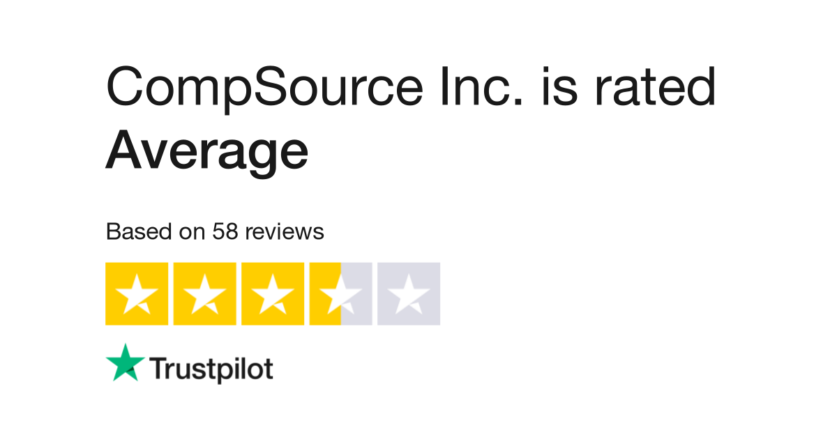 CompSource Inc Reviews