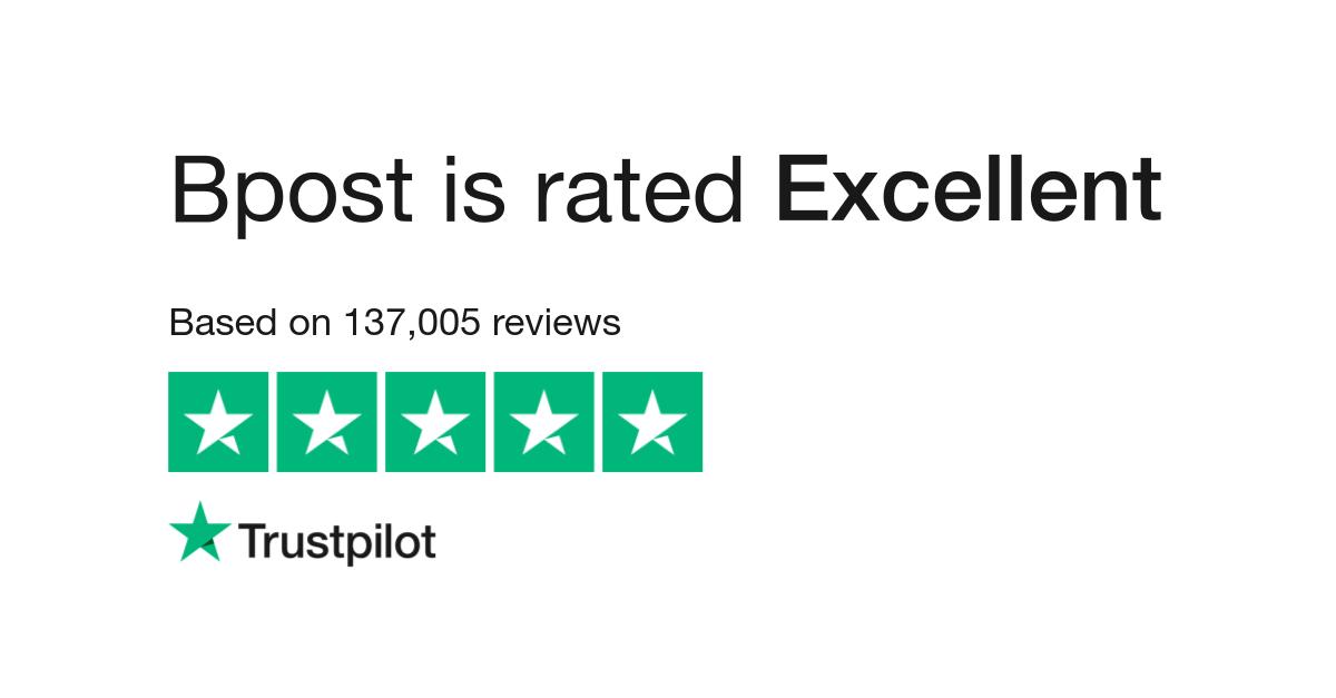 Bpost Reviews   Read Customer Service Reviews of www bpost be