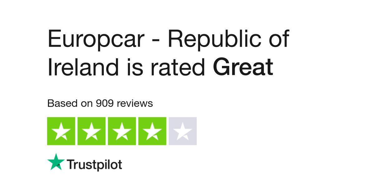 Europcar Republic Of Ireland Reviews Read Customer Service