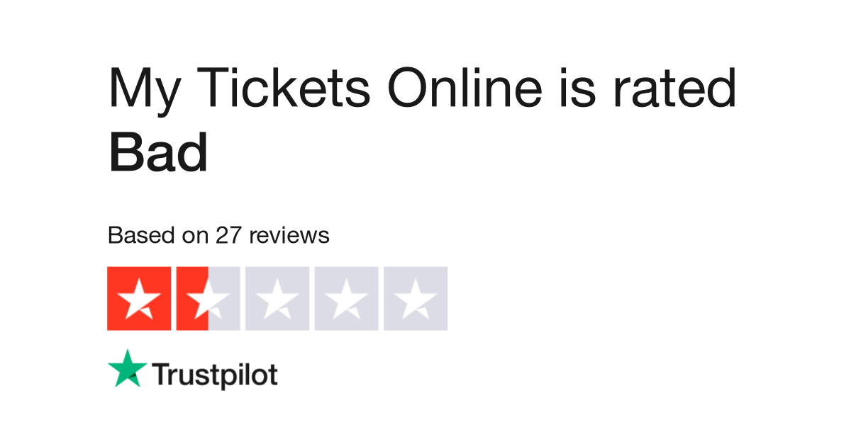 My Tickets Online Reviews | Read Customer Service Reviews of