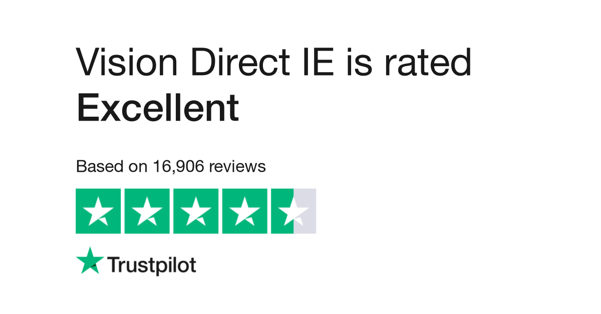 Vision Direct IE Reviews   Read Customer Service Reviews of visiondirect.ie 56d7ce240a
