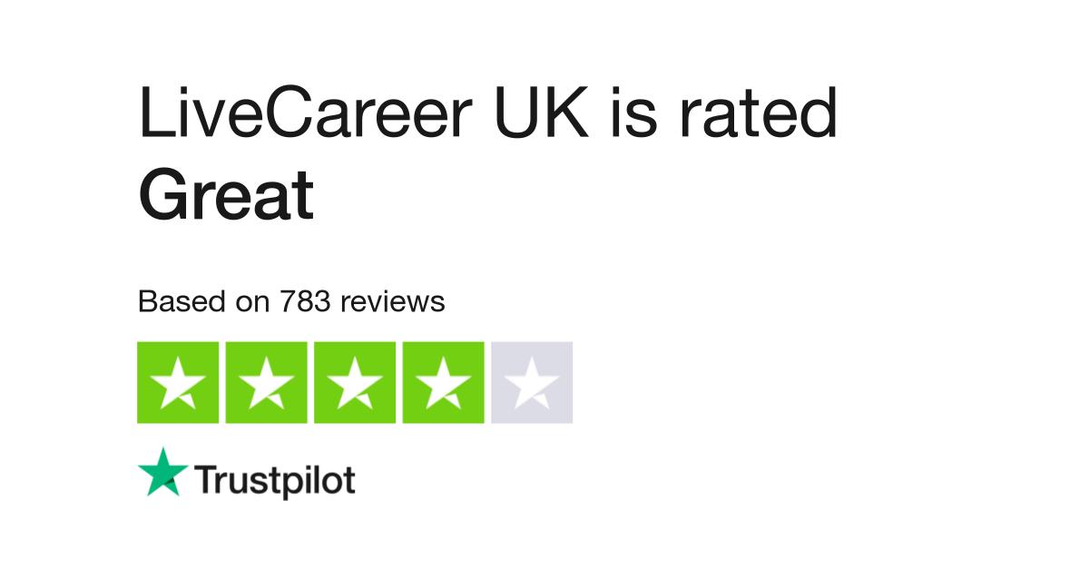 LiveCareer UK Reviews