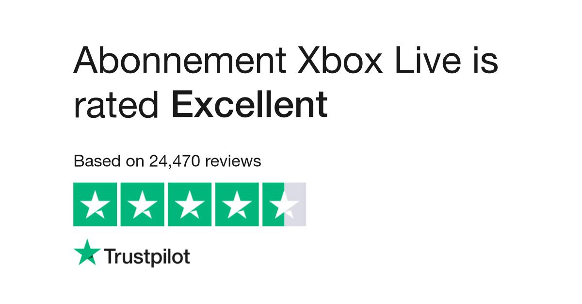abonnement xbox live