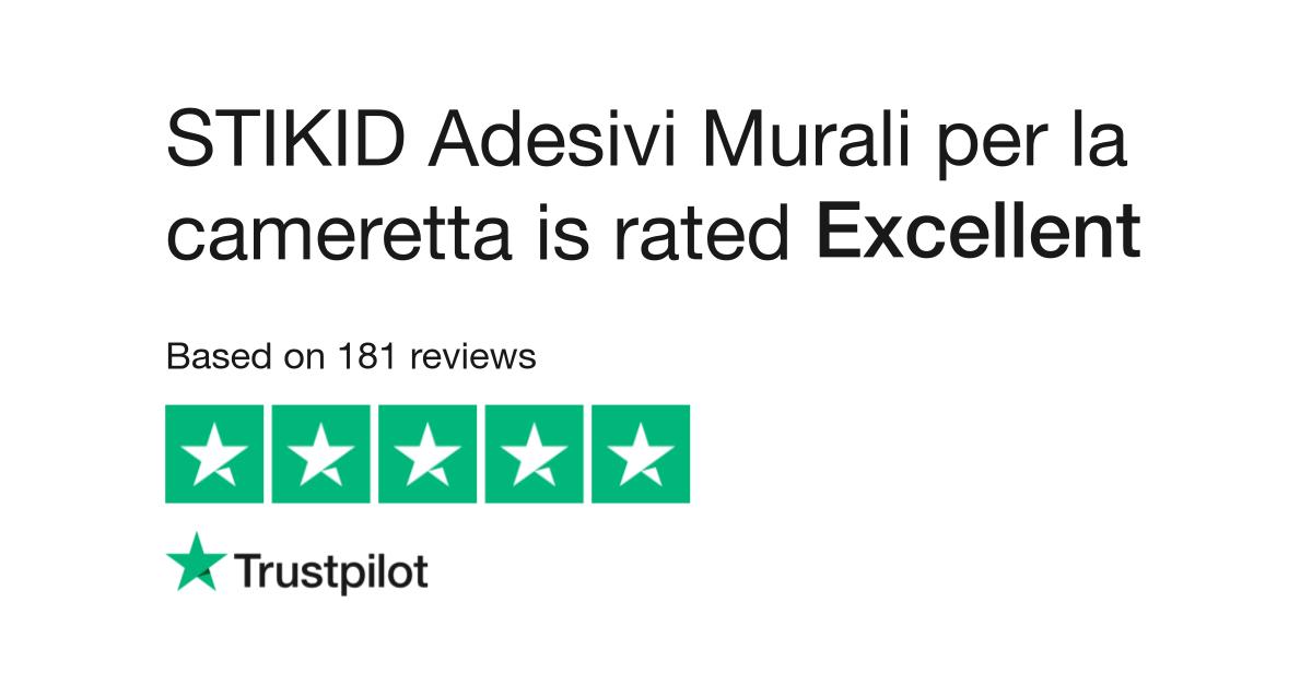 Adesivi Murali Low Cost.Stikid Adesivi Murali Per La Cameretta Reviews Read Customer