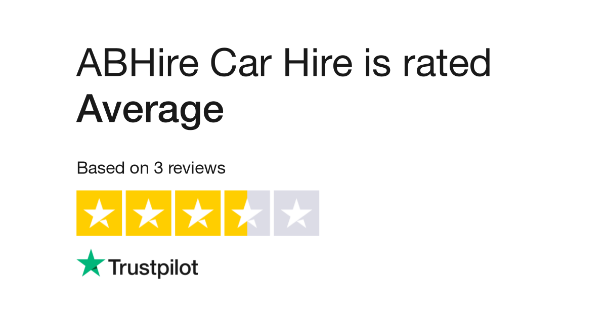 Abhire Car Hire Reviews Read Customer Service Reviews Of Www
