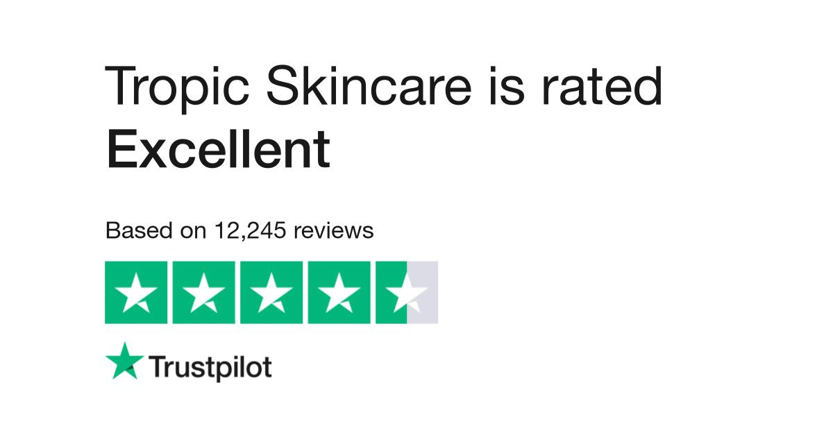 Tropic Skincare Reviews Read Customer Service Reviews Of Www Tropicskincare Com
