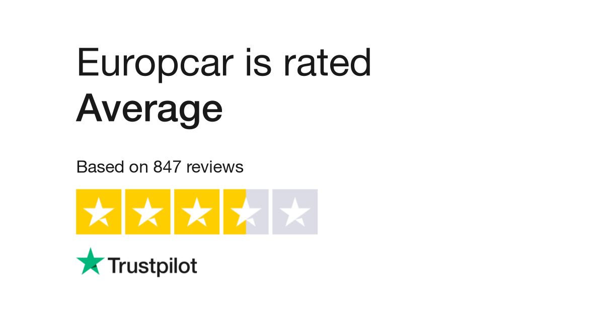 Europcar Reviews Read Customer Service Reviews Of Www Europcar It